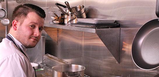 Grey Horse Inn chef, Richard Ward