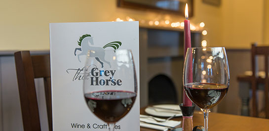 Grey Horse Inn Balerno Drinks